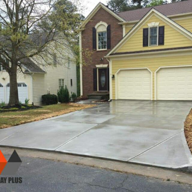 Driveway repair, replacement, concrete, Atlanta, GA