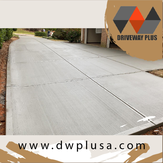 Driveway replacement concrete contractor