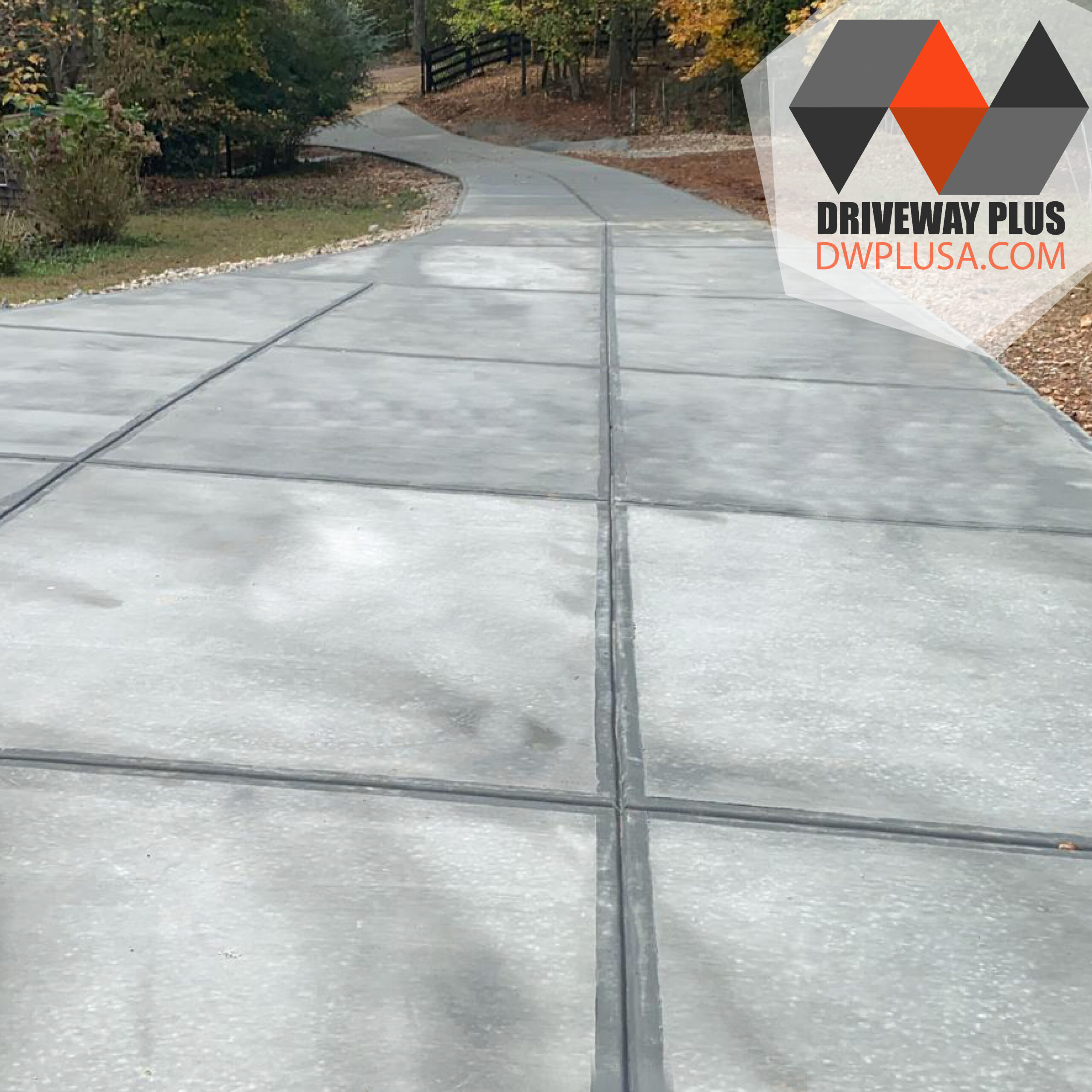 Long driveway concrete contractor