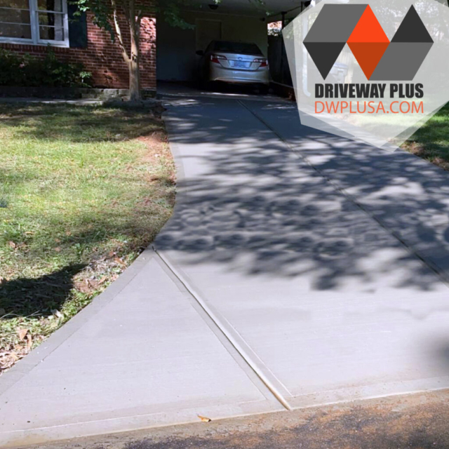 New driveway contract