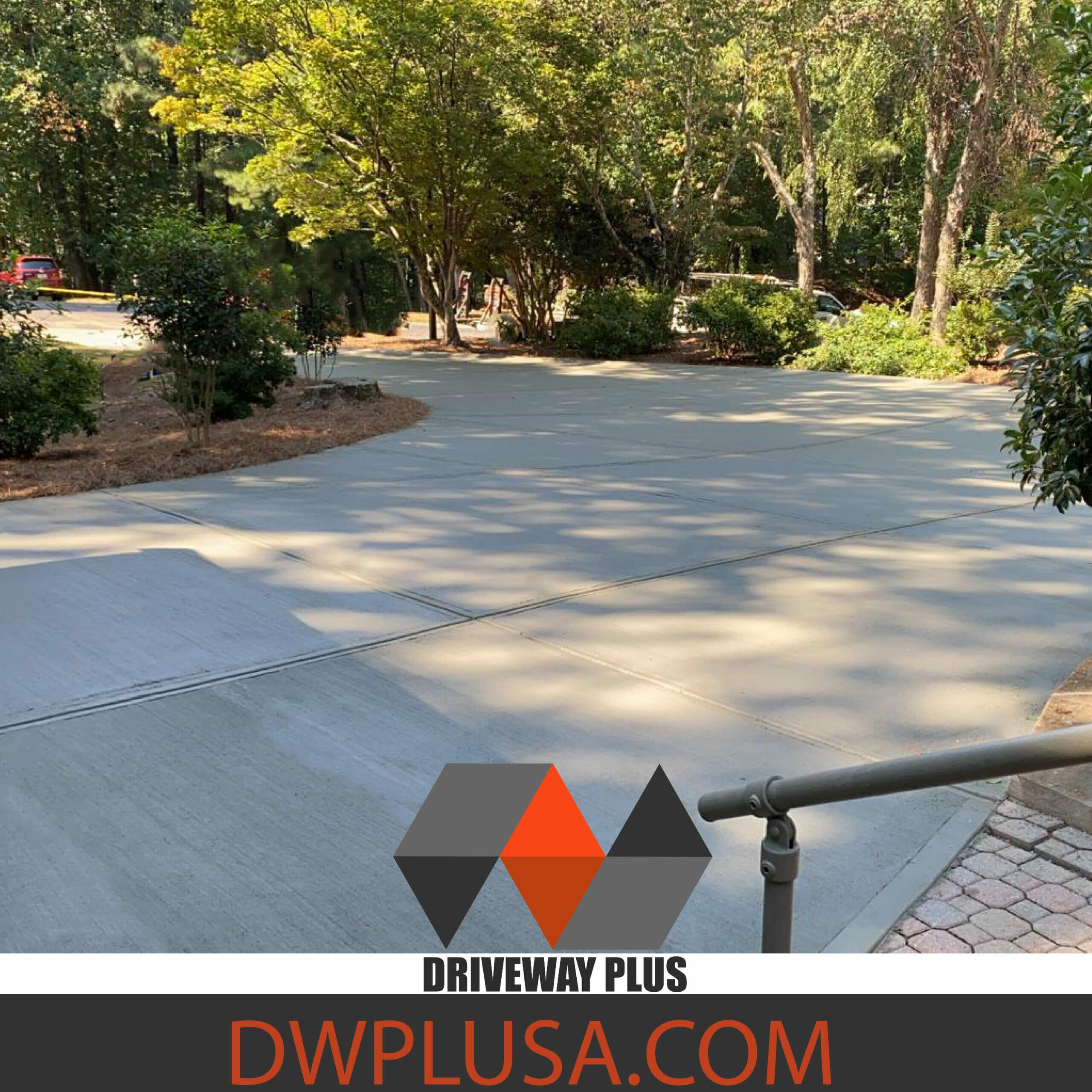 Driveway repair, replacement, concrete, Atlanta