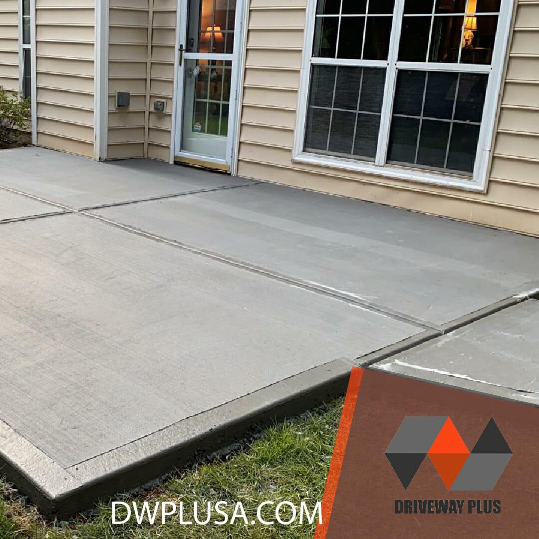 Concrete patio Atlanta